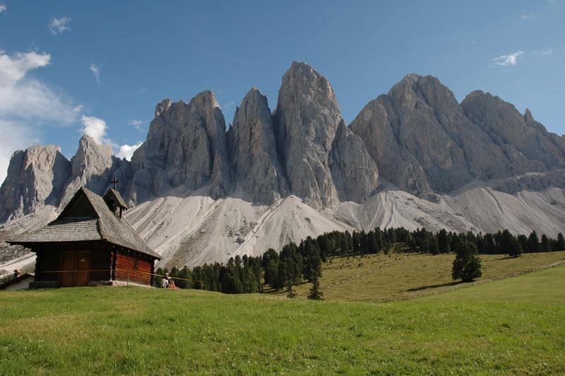 Berge Puez Geisler Südtirol